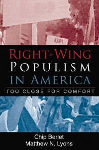 Cover of Right-Wing Populism in America by Chip Berlet and Matthew N. Lyons
